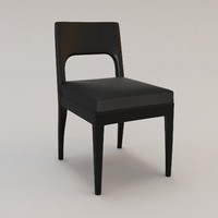 Musc Side Chair by Christian Liaigre