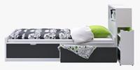 IKEA FLAXA (bed + headboard)