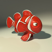 ClownFish gameready lowpoly
