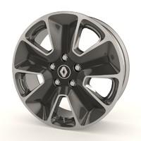 Renault Duster stock wheel
