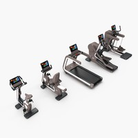bike, recline, run, synchro, vario gym. Cardio group technogym artis