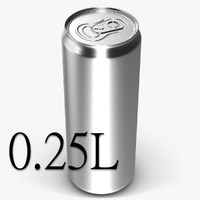 Beverage Can 0.25 L