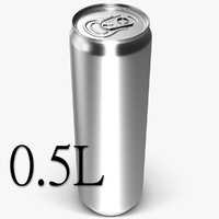Beverage Can 0.5 L