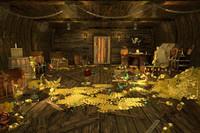 maya cabin pirate ship treasure
