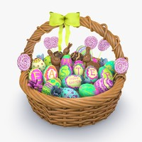 c4d easter basket