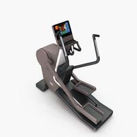 gym synchro cardio artis 3d model