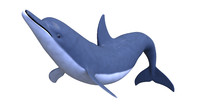 Battlenose Dolphin