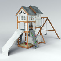 Suncast Vista Hybrid Play Set WRP7000D