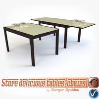 Table NEW SMART G/4704-V OLIVO & GODEASSI