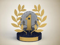 free award place 3d model