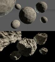 Procedural Asteroid