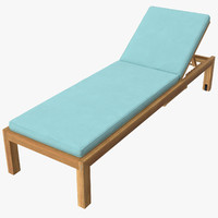 Outdoor Chaise 01