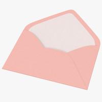 Baby Shower Envelope Open - Pink
