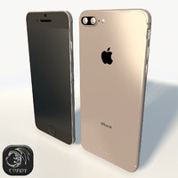 Apple Iphone 7 low poly