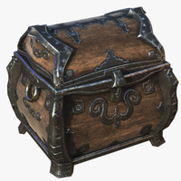 rugged chest 3d model
