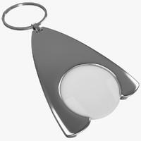 3d keyring ring keys