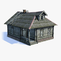 Russian Village House 02