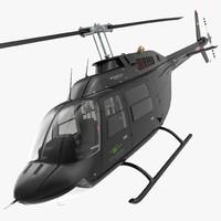 Bell 206B 3 JetRanger III Citycopter Rigged