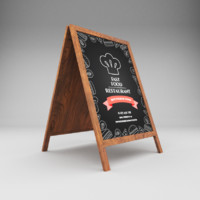 Restaurant board 2