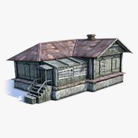 Russian Village House 03
