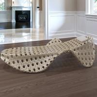 Rattan weaving Deck chair
