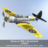 Douglas TDB-1 Devastator - 71S16