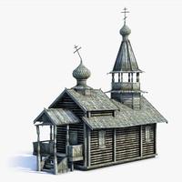Russian Village Church 02
