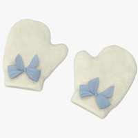 Newborn Mittens 03 Blue