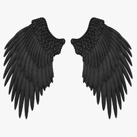 Angel Wings (Black)