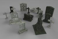 Gravestones Pack #1