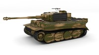 Panzer Tiger Tank Late 1944 v2