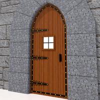 Medieval Door-01