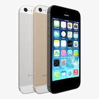 iPhone 5s Gray, White and Gold