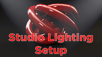 Object Light Studio Setup 2