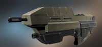 Sci fi machine gun