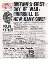 WWII Newspaper: Sept 4th 1939