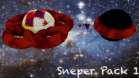 Spaceships Sneper Pack 1