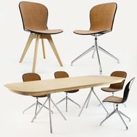 BoConcept Adelaide Chair & Ottawa Table
