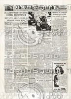 WWII Newspaper: October 29th 1940