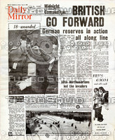 WWII Newspaper: June 9th 1944