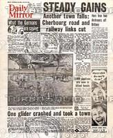 WWII Newspaper: June 10th 1944