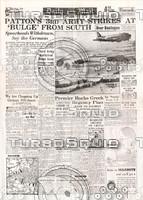 WWII Newspaper: Dec 29th 1944