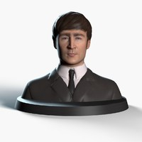 John Lennon 3D Print