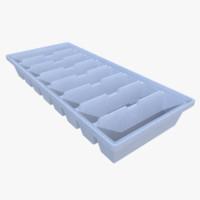 Ice cube tray three