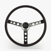 Muscle Car Steering Wheel II