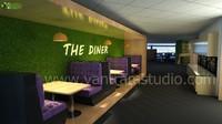 3D Interior Office Design