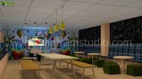 3D Modern Office Interior Design