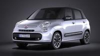 Fiat 500L 2013 VRAY
