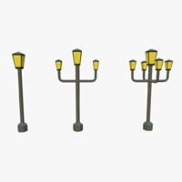 toon street lamp