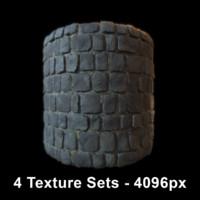 Ground - 4 Texture Sets